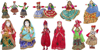 Each region and each society in India has its own treasure of traditional toys and dolls. Researched and gathered from different corners of the country is this magnificent collection of traditional Indian toys and dolls for people to relive their childhoo