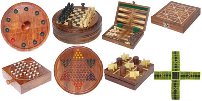 We offer exclusive Indian and other traditional games. We offer a large range of games to choose like chess sets and other traditional games that have entertained people for centuries.