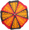 Colourful Hand Embroidered Umbrella from India Unique Trible Arts Handicrafts