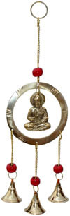 Wind Chime Bell - Brass Made Home Decoration Indian Art