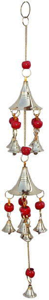 Brass Wind Chimes Handmade Home Decoration India Crafts