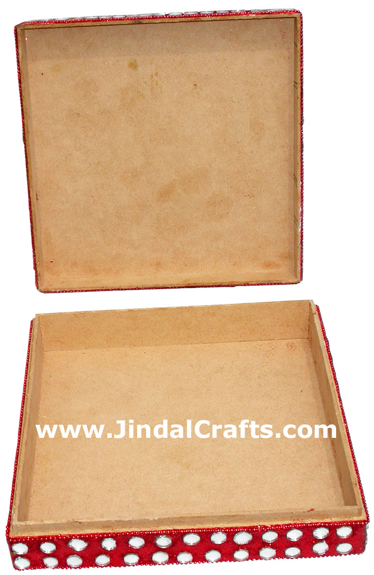Lac made wedding invitation box india crafts handmade for Wedding invitation boxes online india