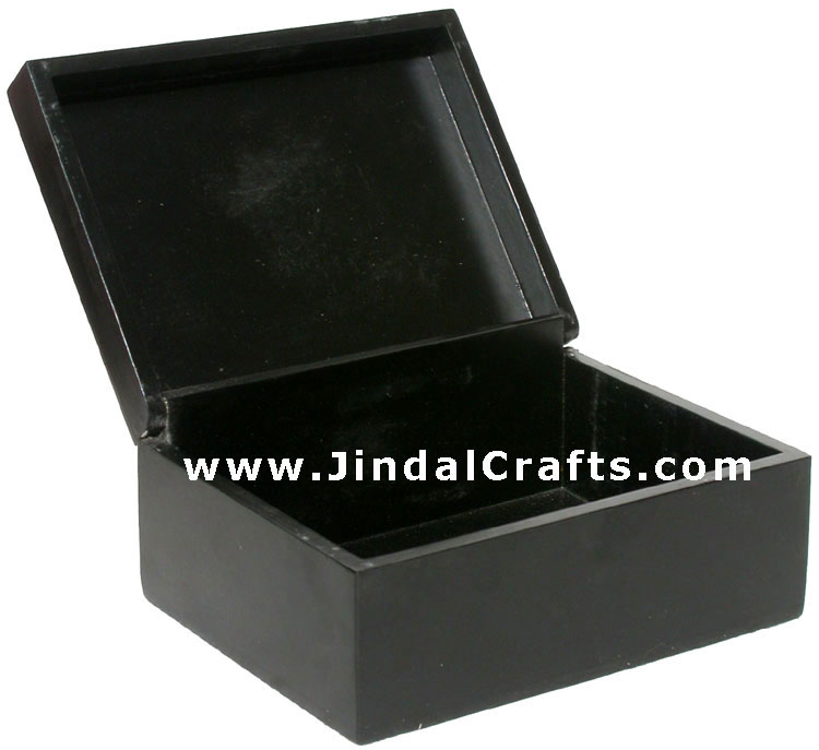 Handmade Hand Painted Decorative Wooden Box from India