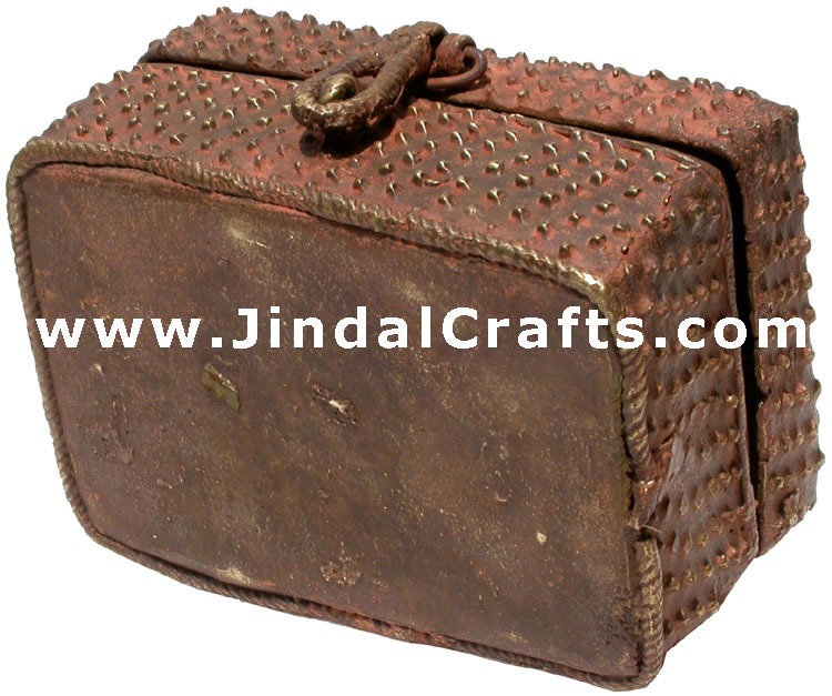 Masterpiece Brass Made Traditional Box from India