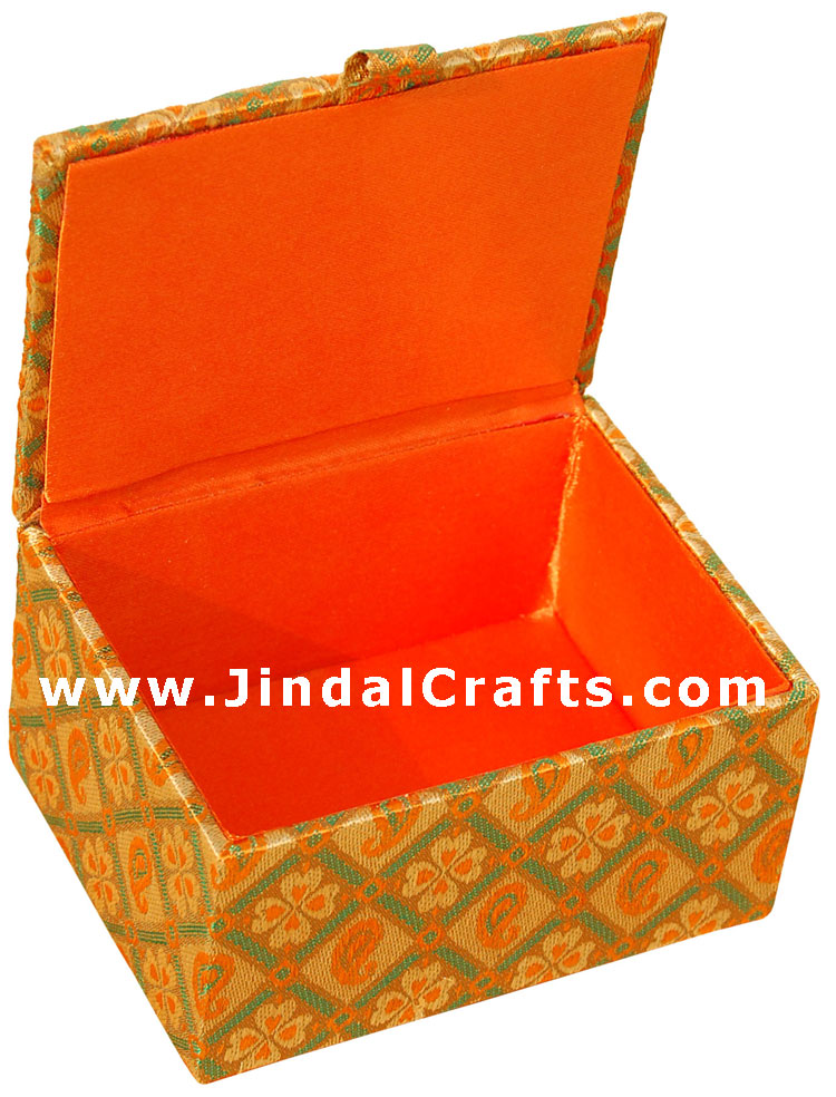 Hand Embroider / Beaded Multi Purpose Box - Indian Art