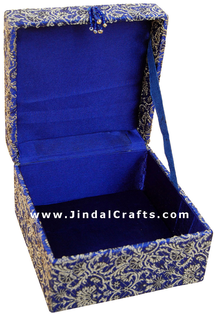 Hand Embroider / Beaded / Jari / Zari Jewelry Box Decor