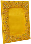 Hand Made Beaded and Embroidered Photo Frame India Art