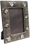 Hand Embroidered Beaded Picture Frame India Designer Photo Frame Arts Souvenirs