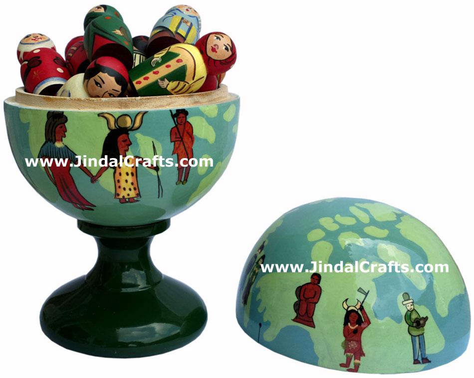 Wooden Home Decor Artifact Handicraft Art From India Hand
