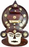 Wall Hanging Dancer Face Mask - Home Decor Tribal Artifact Handicrafts Arts