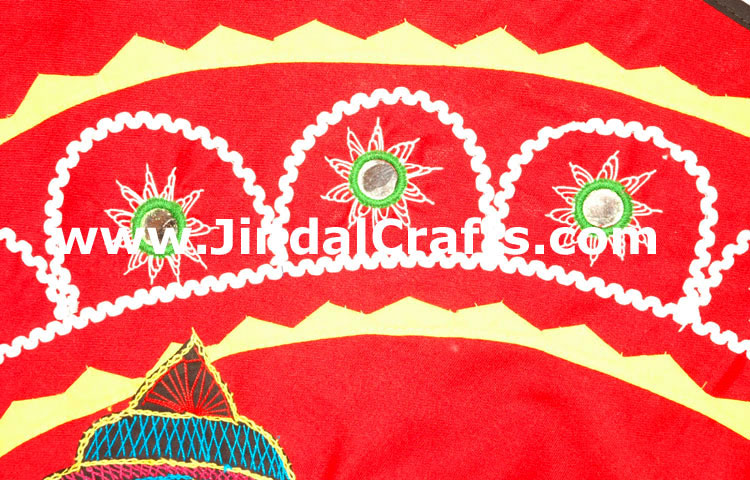 Wall Hanging - Handmade Embroidery Work from India