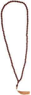 Wooden Bead Mala - Wooden Fashion Jewelry India
