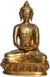 Buddha Statues Brass Figures Himalaya Artifacts Crafts
