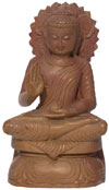 Lord Buddha Hand Carved Stone Sculpture India Hindu Religious Carving Artifacts