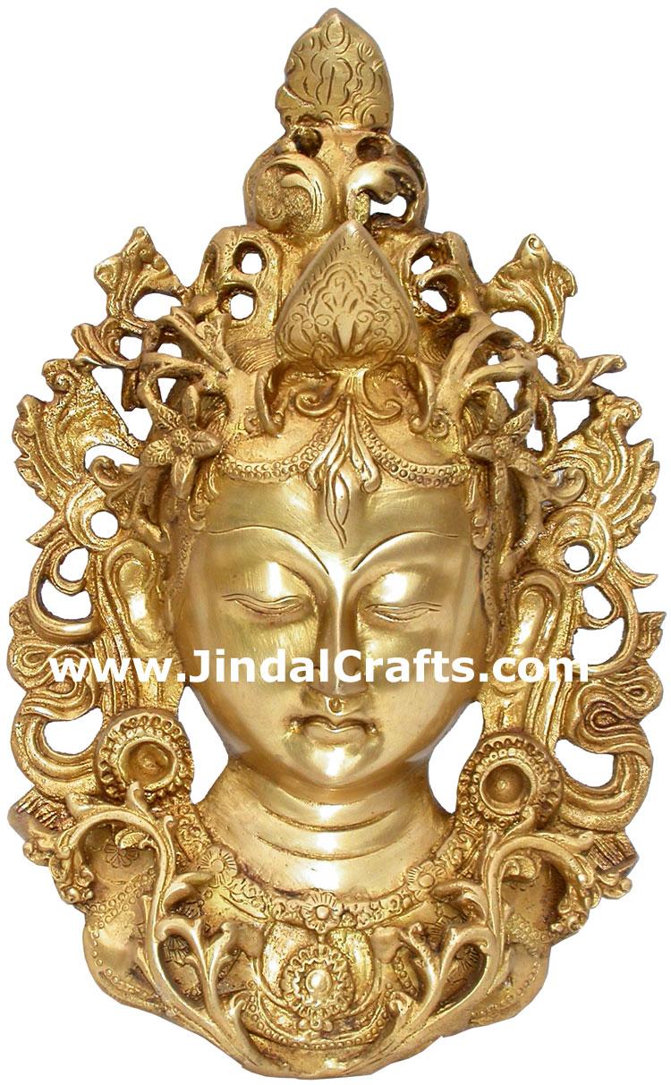 Face Wall Hanging Metal Crafts India Handicrafts