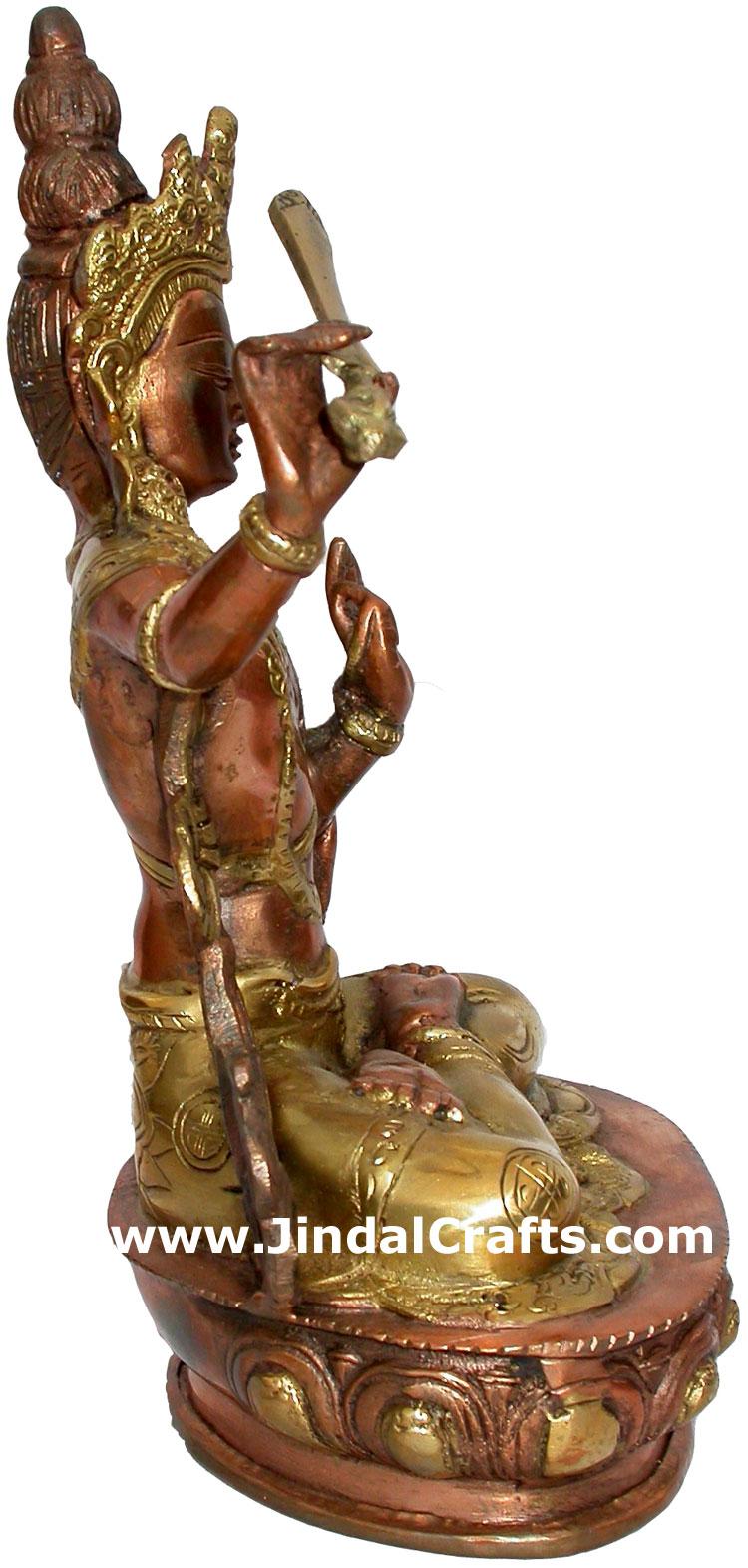 tara antique finish buddhism statues figures home decor. Black Bedroom Furniture Sets. Home Design Ideas