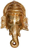 Hindu Deities Brass Lord Ganesha India Carving Arts