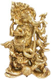 Lord Ganesh - Indian God Statue Hindu Handmade Artifact