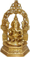 Lord Ganesh Statue Hindu Religious Artifact Statues Art