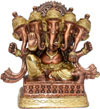 Ganesha Antique Finish Statue Indian God Hindu Crafts