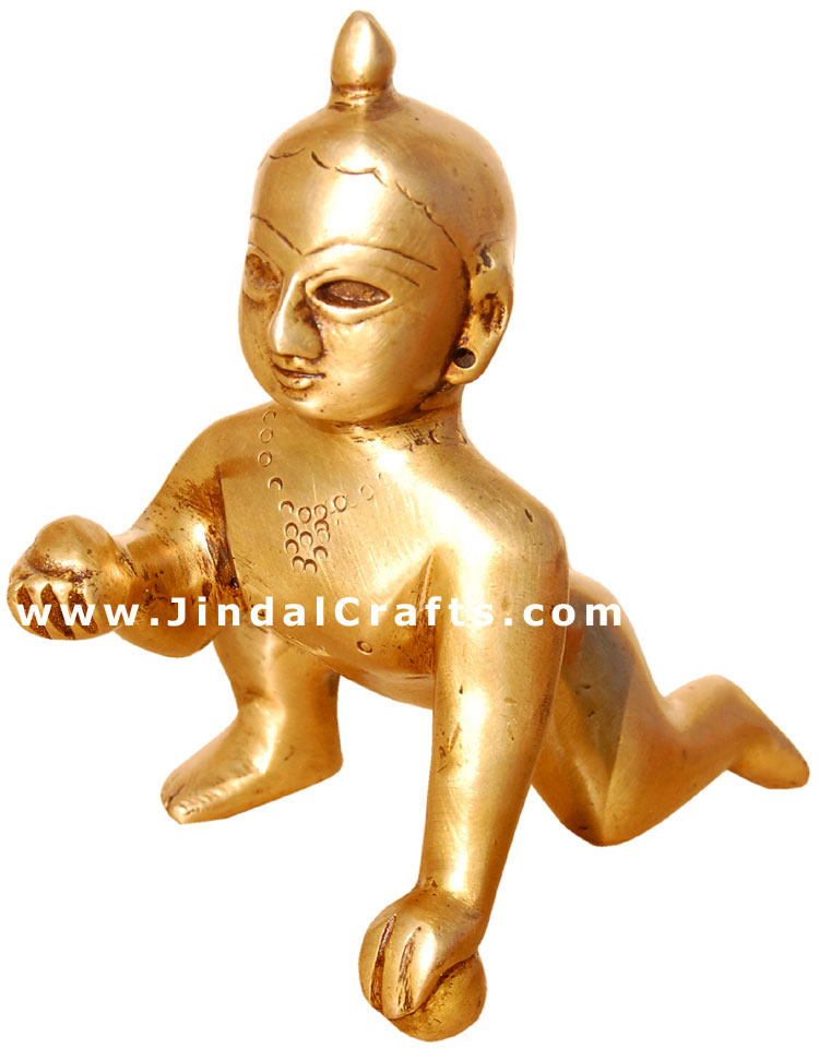 Laddoo Gopal Bal Gopal Krishna Idol Indian Hindu God