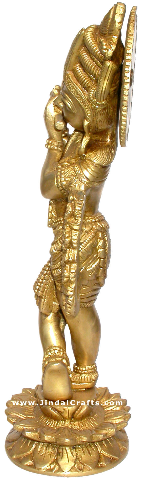 Indian Lord Krishna Hindu Religious Handicraft Art
