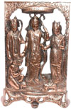 Ram Darbaar - Hand Carved Indian Art Craft Handicraft Home Decor Aluminum