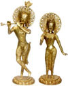 Radha Krishna Indian Gods Statues Hindu India Art