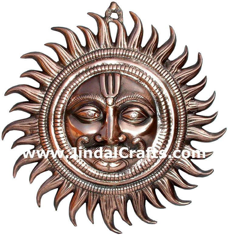 Sun God Wall Hanging Home Decoration India Arts Gifts