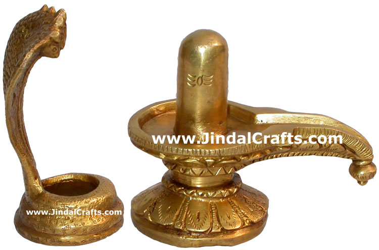 Shivling Home Decoration Figurines Brass Sculptures Art