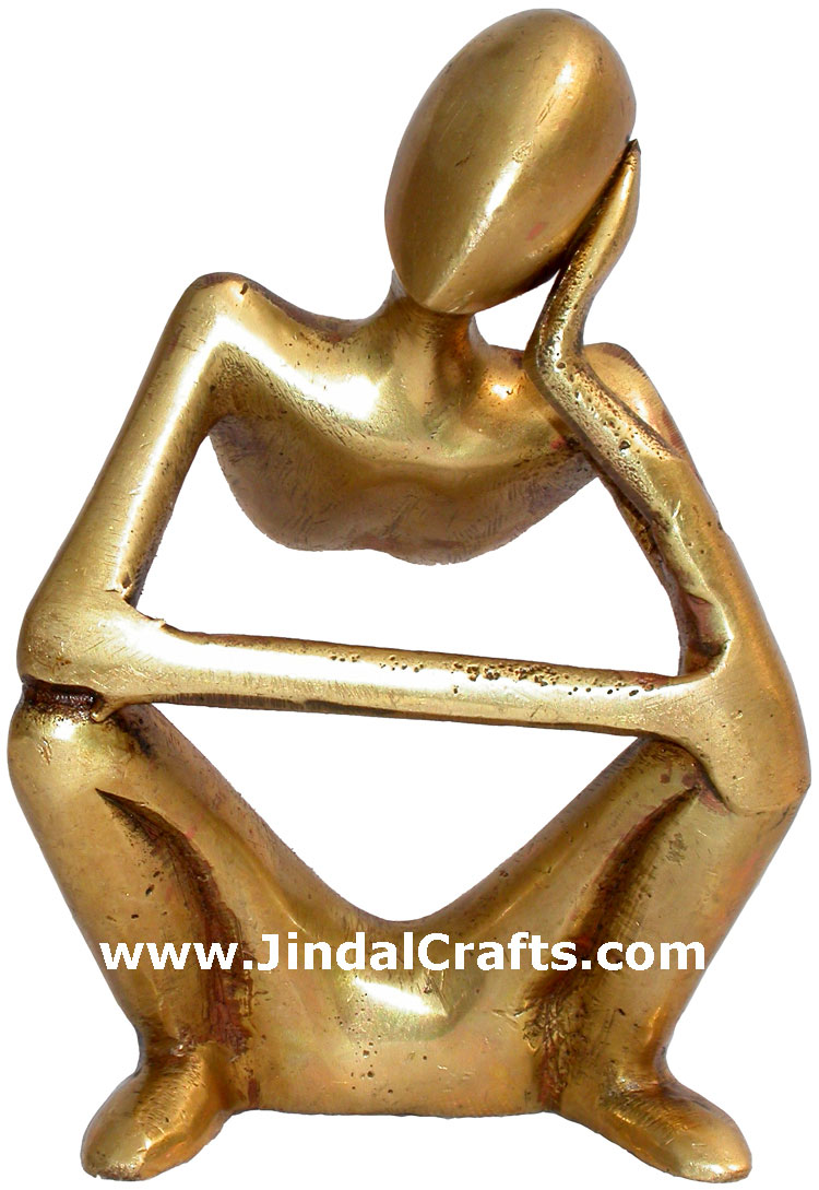 Designer Statue Home Decoration Brass Crafts India Arts