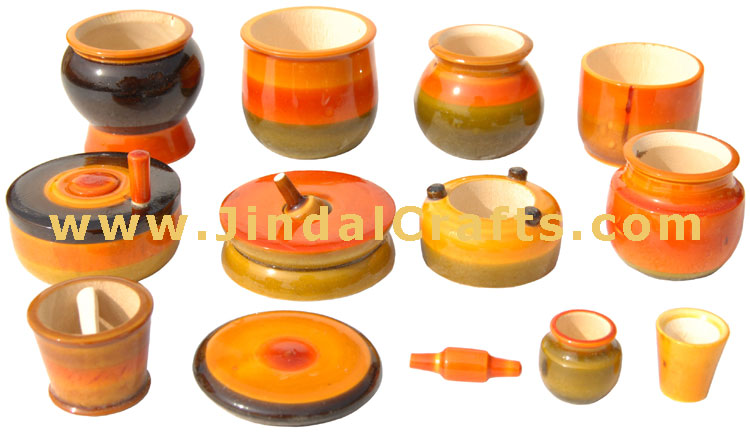 Wooden Kitchen Set Toy India