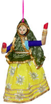 Handmade Traditional Hanging Village Dolls Indian Art