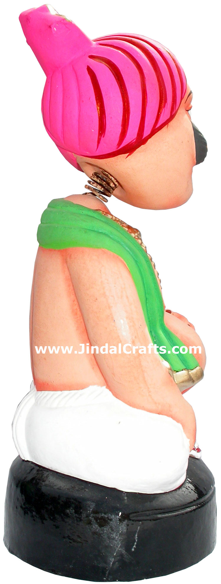 Dancing Doll Clay Made Colourful Traditional India Arts