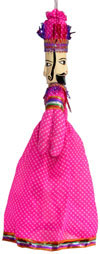 Finger Puppet Traditional Doll Rajasthan India Crafts