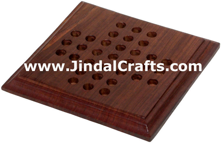 Solitaire - Handmade Wooden Traditional Game