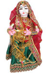 We at Jindal Crafts, offer a large range of beautiful Indian dolls, wooden or clay dolls, dancing dolls and other Collectible dolls. Exquisite beauty and interesting stories behind these handcrafted dolls make them a collector's dream.