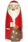 Our unique range of Santa Claus rock Christmas festivities.
